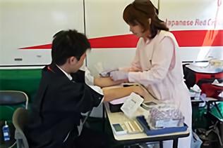 年に数回の献血への貢献