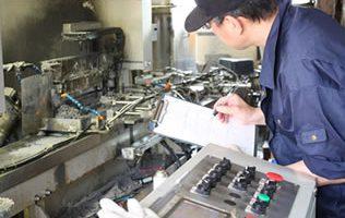 各工程内検査で不良を削減。