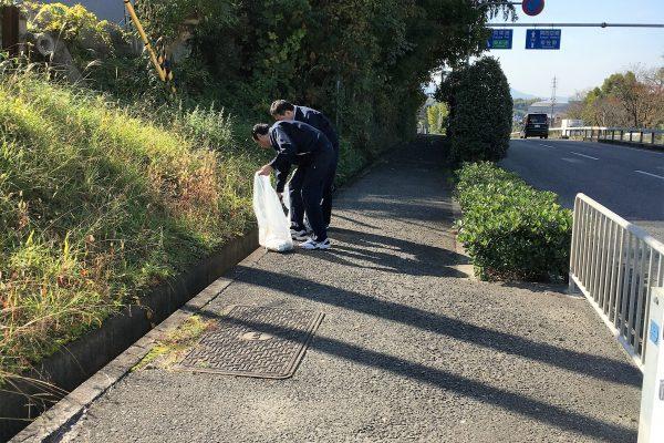 2016.11 清掃奉仕活動実施