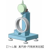 <真円度・円筒度測定器の製作>