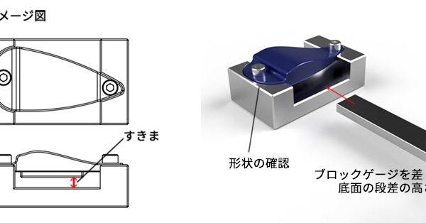 樹脂成型用特注ゲージの製作事例